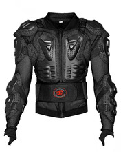 Motorcross  Black back protector shoulder protection chest protection jacket protective clothing body protector