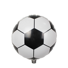 10pcs/lot new hot 18 inch football balloons children's toys wholesale wedding party decoration balloons for baby gift