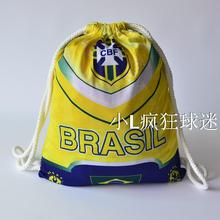 sports outdoor polyester Brazil soccer bag Portable football fan football boots shoes bag Fans souvenirs storage bag gift