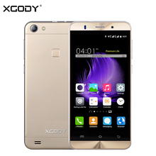 XGODY X15 5.0 Inch 3G Smartphone Android 5.1 MTK6580 Quad Core Upgraded XGODY X200 1GB RAM 8GB ROM Unlock Dual Sim Mobile Phone(China)