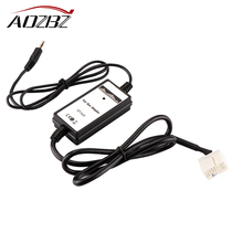AOZBZ Car Aux-in Adapter 3.5mm MP3 Player Audio Interface for Honda Accord Civic Odyssey Car Audio Interface(China)