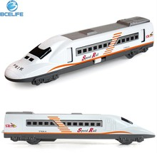 Super Mini Size Flashing Intelligent Pull Back Train Toy Electric Model Train Color Music Vehicle Train Toys For Children RC22