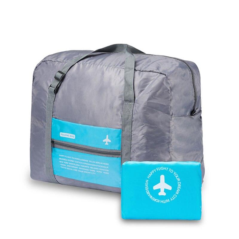IUXNewbring Travel Folding Bags WaterProof Travel Bag Large Capacity Bag Women Nylon Folding Bag Uni Luggage Travel Handbags