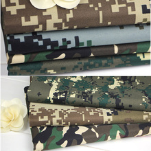 Military Training in Field Desert Forest Camouflage Fabric Cloth DIY Handmade Clothes 087