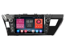 Android 6.0 CAR DVD FOR TOYOTA COROLLA 2014 car audio gps player stereo head unit Multimedia build in 4G module(China)