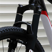 New Arrival 2 pcs Cycling Front Fork Protector Bike Wrap Cover Pad MTB Sport Bicycle Fork Cover Bicycle Fork Cover Bike Parts(China)