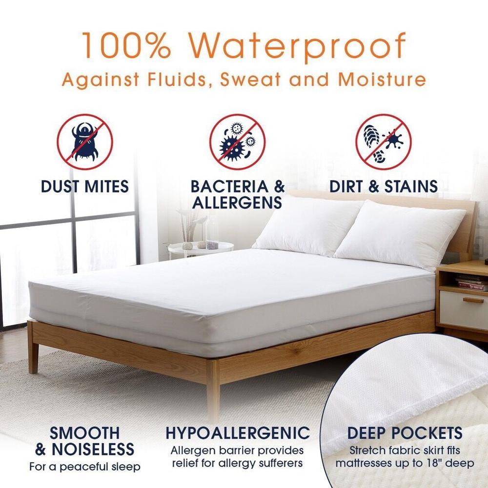 smooth mattress protector
