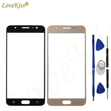 Buy Lovekiss Touch Screen Sensor Lens LCD Display Front Glass Panel Samsung Galaxy J5 Prime G570F On5 2016 G570 Replacement for $4.05 in AliExpress store