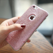 For Iphone 6 6S 7 Plus 6S Plus 5 5S SE Phone Case Luxury Bling Glitter Powder Ultra Thin HIgh Quality Soft TPU Phone Back Cover