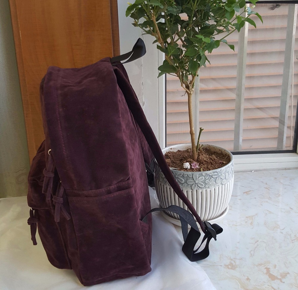 backpack suede bag (5)
