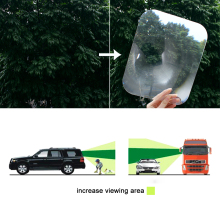 Universal Car Reversing Sticker Helpful Wide Angle Car Stickers Fresnel Lens Transparent Automobile Parking Sticker