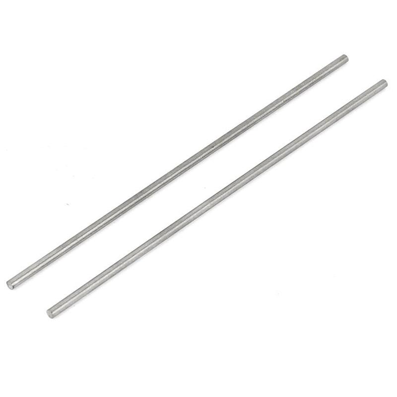 Rond Tige 2 mm Diamètre 100 mm longueur HSS Lathe Bar stock de bricolage outil 10 pcs