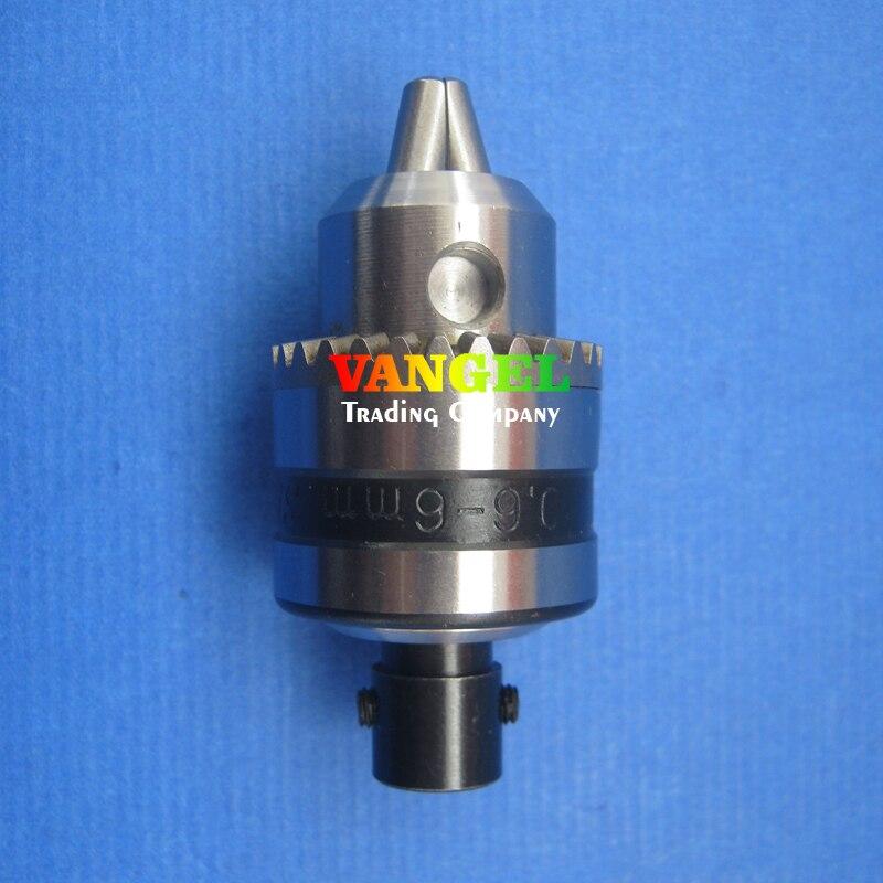 FitSain--8mm-B10 mini drill chuck 0.6-6mm B10 Used for motor shaft diameter 8mm for mini pcb drill dremel driver Press tool<br><br>Aliexpress