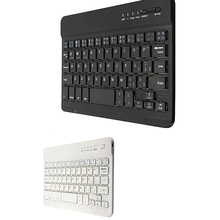 Etmakit  New Ultra Slim Multimedia Aluminum Wireless Bluetooth Keyboard For IOS Android Tablet PC Windows For iPad mini
