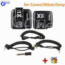 Godox X1-C/N/S E-TTL 2.4G Wireless Radio Camera Flash Trigger Transmitter/Receiver for Canon Nikon Sony Cameras