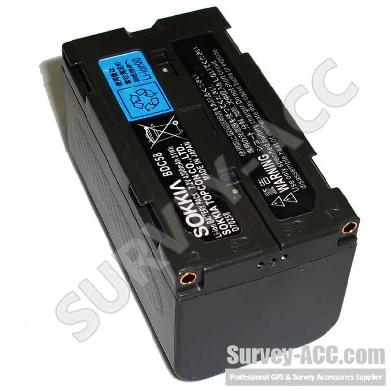 NEW BDC58 BDC-58 7.4V/5200aAH Li-ion battery,for total Station and GPS<br>