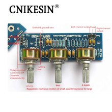CNIKESIN DIY No electricity Power Amplifier With Passive Front Plate Front Board Sound Palette PCB Board KIT Parts
