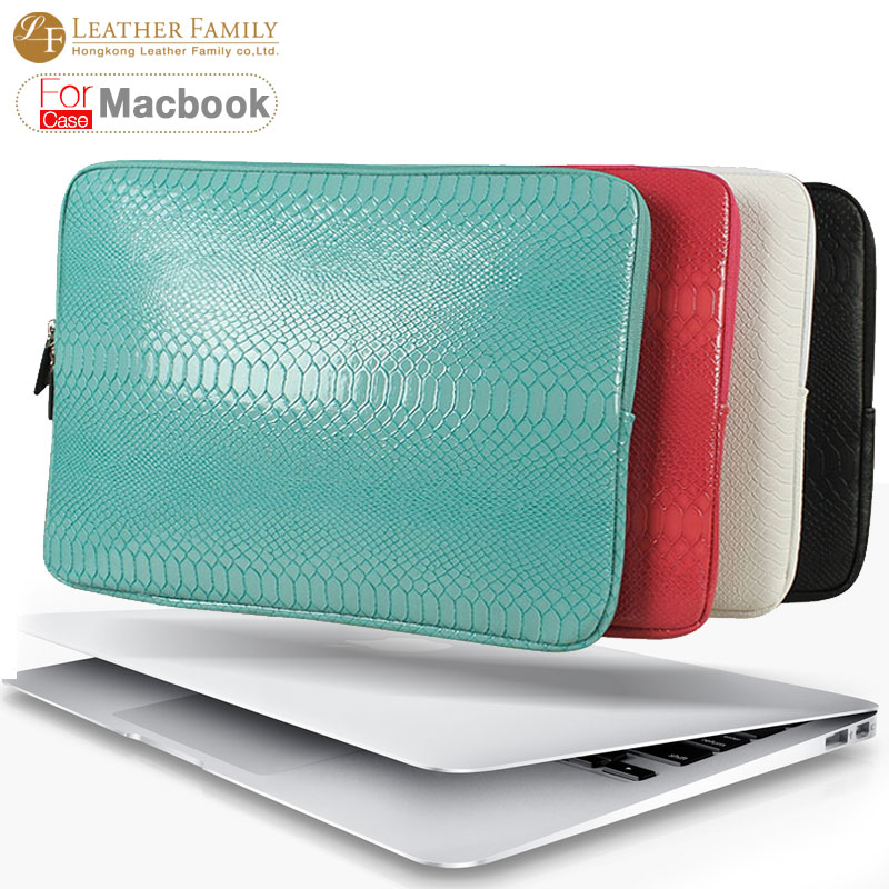 Ultrabook snake skin Sleeve bag For Macbook Air 13 Retina Pro 12 13.3 14 15.4 inch Laptop Inner Case Notebook with zipper bags<br><br>Aliexpress