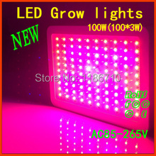 full spectrum led grow lights 300w Hydroponic Lighting Real 630nm UV IR 100% 3w Epistar Chips for Indoor Planting
