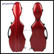 High Quality 4/4 Violin Case Full Size Fiber Glass VIolin Case Violin Straps