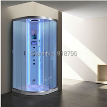 luxury steam shower enclosures bathroom steam shower cabins jetted massage walking-in sauna rooms 8061