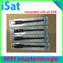 free  shipping!RT5370 External Antenna Android Usb Wifi antenna Dongle 150Mbps compatible with DVB models