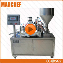 Emulsions/  Cosmetic/ Glue  Automatic Plastic Tube filling sealing machine