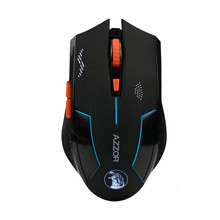 Performance 2.4GHZ 2400DPI  Optics Wireless Mouse Rechargeable Gaming Mouse Lithium Battery Build-in Mice Laser