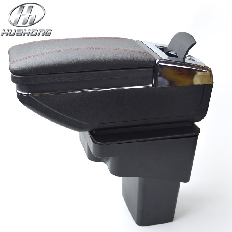 Update 8th For Hyundai Solaris / Verna / Grand Avega armrest box central Store content box with cup holder ashtray accessories<br><br>Aliexpress