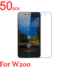 50pcs glossy Ultra Clear/Matte/Nano anti-Explosion LCD Screen Protector Film Cover For THL W100 W200 W300 T100 Protective Film