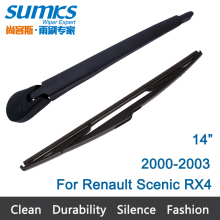 "New Rear Window Windshield Wiper Arm and Blade For Renault Scenic RX4 (2000-2003) 14"" R14D3640"