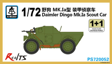 RealTS S-model 1/72 PS720052 Daimler Dingo Mk.Ia Scout Car Plastic model kit