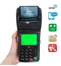 Low GPRS Data Handheld GPRS SMS Printer for Restaurant Online Food Ordering and Online Shopping(China)