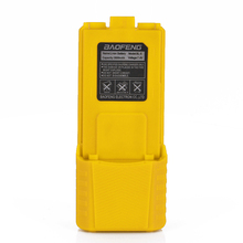 Baofeng UV-5R Yellow Walkie Talkie Battery BL-5 Extended 3800mAh 7.4V Li ion Battery Rechargeable Battery for UV-5R BF-F8 Radio