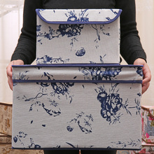 new retro linen folding storage box clothes organizer kid toys storage bin Household finishing box 2 size 25*20*17cm 38*25*25cm