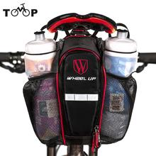 Wheel Up Cycling Bags Can Put Two Water Bottle Bicycle Seat post Bag MTB Road Bike Seat Rear Tail Pouch Bottle Bike Saddle Bag(China)