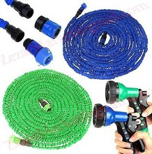 Yeshitop factory sales HOT 75FT Car Water Hose Reels for Garden pipe with spray Gun With EU or US connector & Blue,Green