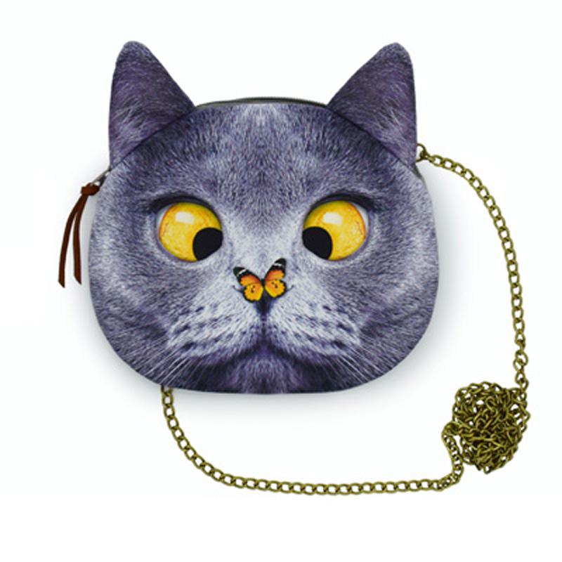 2017 New arrival high quality funny cats women bags handbags Plane 3D dog sweet ladies shoulder bags women messenger chain bag<br><br>Aliexpress