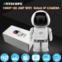 Buy Robot 1080P 2MP IP Camera WIFI Clock Network CCTV HD Baby Monitor Remote Control Home Security Night Vision Two Way Audio for $53.98 in AliExpress store