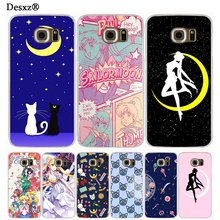 Desxz Sailor Moon sailormoon girl crystal cell phone case cover for Samsung Galaxy Note 3,4,5 E5,E7 ON5 ON7 grand prime G530(China)