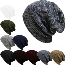Unisex Men Women Skiing Warm Winter Knitting Skating Skull Cap Hat Beanies Street dance Ski Cap Snowboard