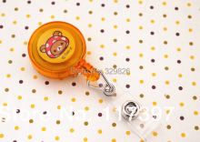 Cute ID BADGE REEL CARTOON PLASTIC ID CARD HOLDER San-X Rilakkuma 10PCS/LO