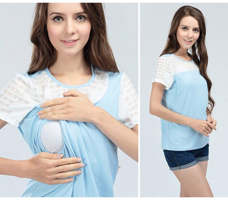 a102296a930 2019 Emotion Moms Summer Maternity Clothes Nursing Breastfeeding ...