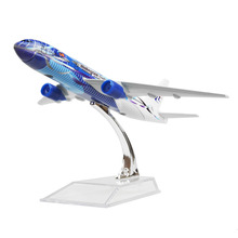 Malaysia Airlines Seawave Boeing 777 16cm airplane models child Birthday gift plane models toys Free Shipping(China)