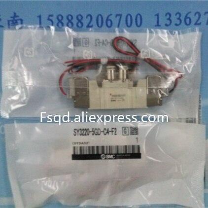 SY3220-5GD-C4-F2 SMC solenoid valve electromagnetic valve pneumatic component<br>