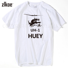 Bell UH1 Iroquois Huey Helicopter Men's T shirt 2017