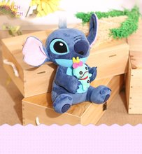 2017 Big Size Stitch  Plush Toys  And Stitch Stich Plush Toys  Scrump Soft Stuffed Animals Doll Kids Toys Gift