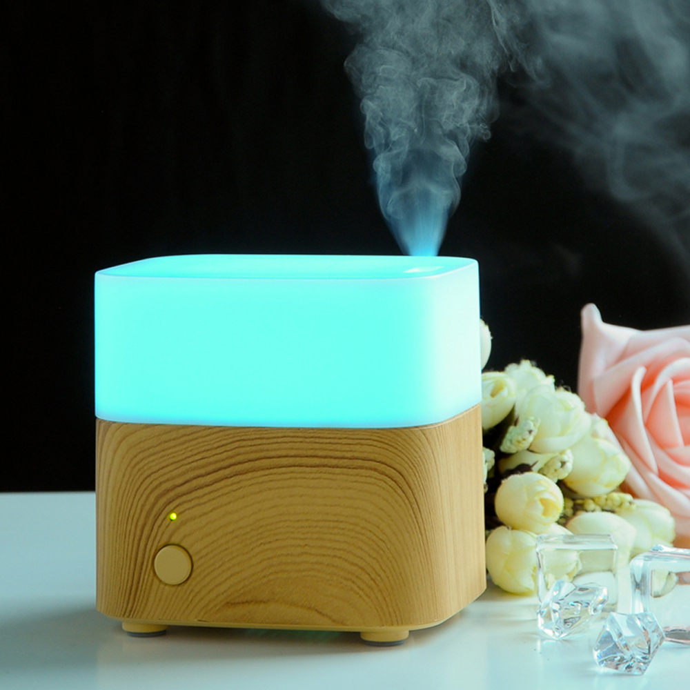 Mini Essential Oil Diffuser 120ml Fragrances Ultrasonic Amora Humidifier Mist Fogger Maker With LED Color Changing For Home<br><br>Aliexpress