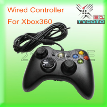 10pcs/lot Wired Gamepad Controller For XBOX 360 Wired Joystick for XBOX 360 Game Controller Color Black & White