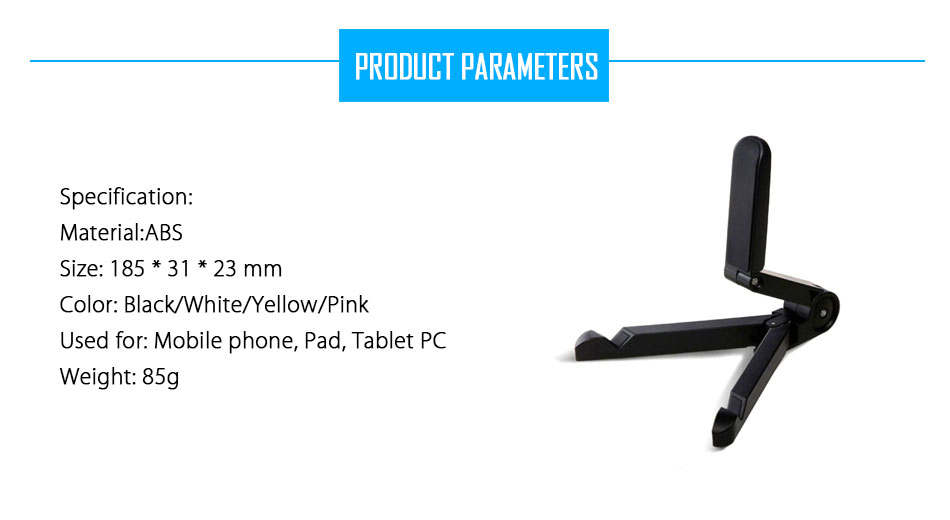 Mrs win Universal Foldable Phone Tablet Holder Desk Stand Adjustable Tripod Stability Support for iPhone iPad Pad Tablet Huawei 5